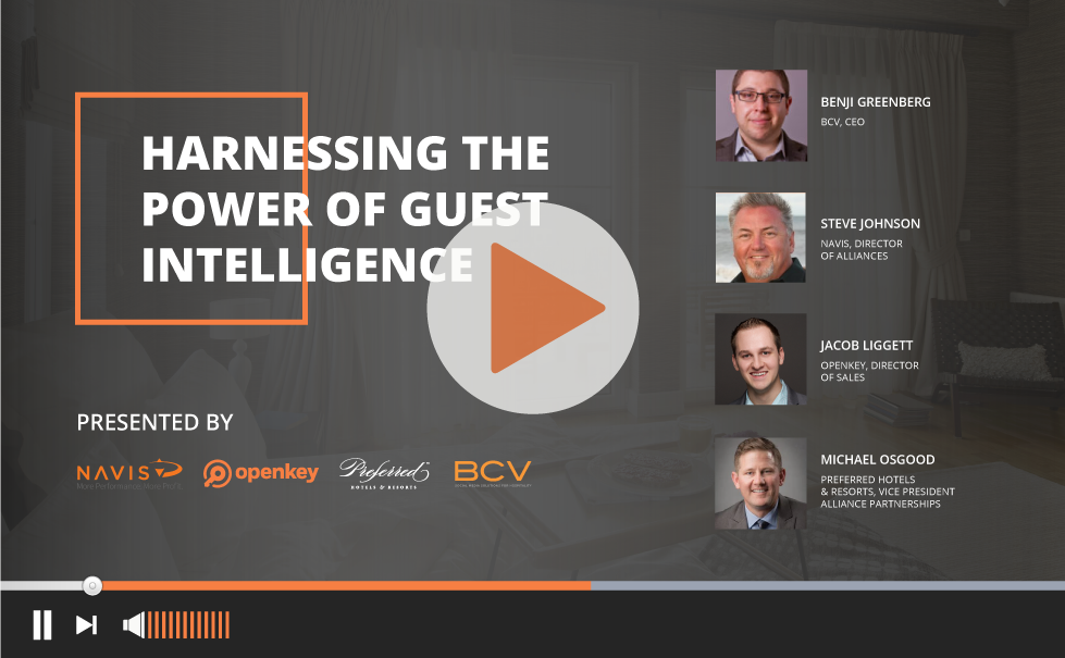 Webinar: Harnessing the Power of Guest Intelligence