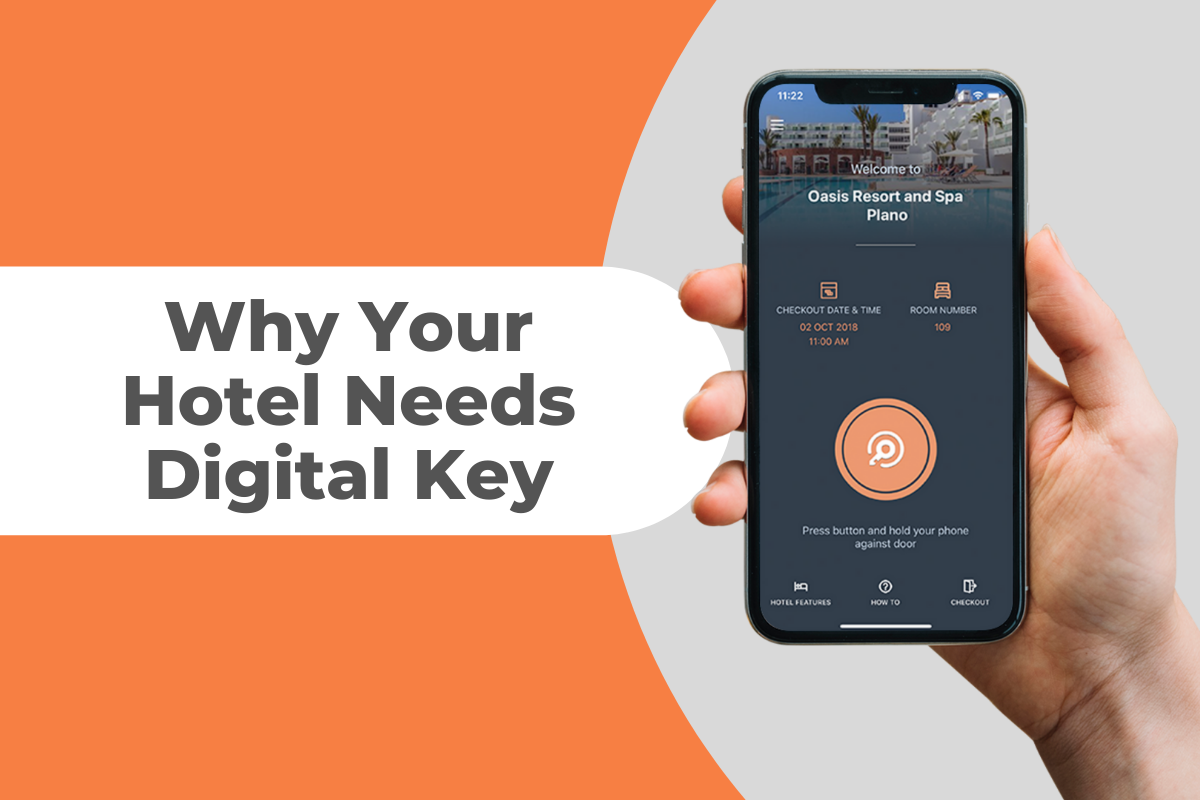 Read more about the article Why Your Hotel Needs Digital Key